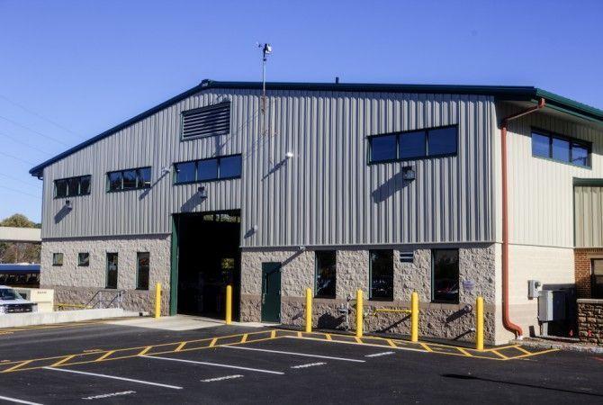 Randolph Township Garage Strunk Albert Engineering