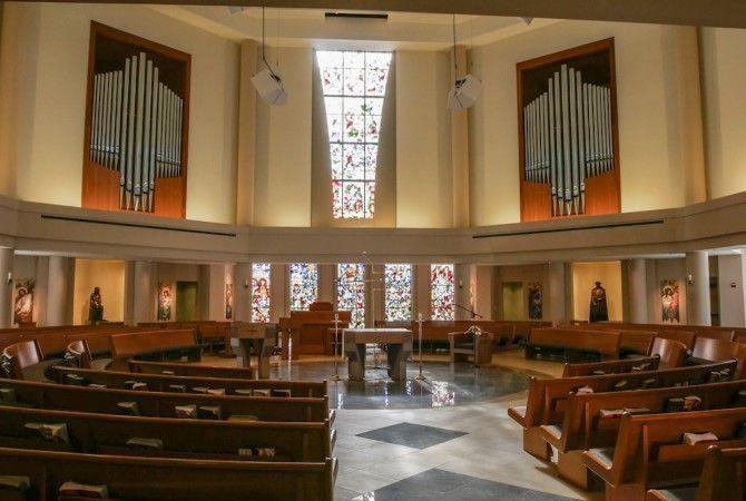 St. Thomas More Church – St. John's University   Strunk-Albert ...